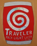 3. Traveler Pack Light Lager.