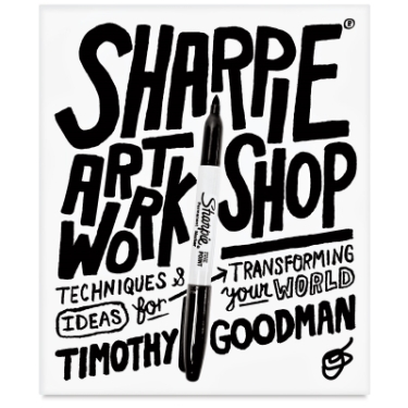 24. Goodman's Sharpie Art Workshop book.